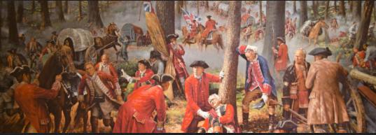 BraddocksBattlefield historical
